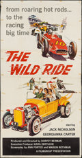"Movie Posters:Exploitation, The Wild Ride (Filmgroup, Inc., 1960). Three Sheet (41"" X 78.5"").Exploitation.. ..."