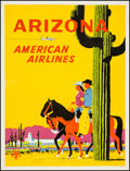 "Movie Posters:Miscellaneous, Arizona (American Airlines, ca. 1955). Travel Poster (30.25"" X39.75""). Miscellaneous.. ..."