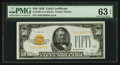 Small Size:Gold Certificates, Fr. 2404 $50 1928 Gold Certificate. PMG Choice Uncirculated 63 EPQ.. ...