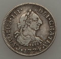 Colombia, Colombia: A Colonial 1/2 Real Pair 1774-1816,... (Total: 2 coins)