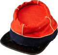 "Military & Patriotic:Civil War, Tall ""Zouave"" Style Civil War Chasseur Cap...."