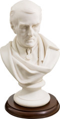 Military & Patriotic:Foreign Wars, Parian/ Bisque Porcelain Bust of the Duke of Wellington after a Work by Alfred, Count D'Orsay....