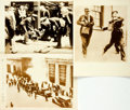 Books:Photography, [Photography]. Group of Three Early Twentieth-Century Photographs Depicting Street Riots. [N.p., n.d., circa 1925]. . ...