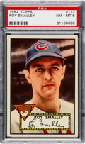 Baseball Cards:Singles (1950-1959), 1952 Topps Roy Smalley #173 PSA NM-MT 8....