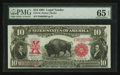 Large Size:Legal Tender Notes, Fr. 119 $10 1901 Legal Tender PMG Gem Uncirculated 65 EPQ.. ...