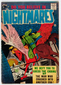 Silver Age (1956-1969):Horror, Do You Believe in Nightmares #1 (St. John, 1957) Condition: VG-....