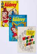 Silver Age (1956-1969):Humor, Playful Little Audrey File Copies Box Lot (Harvey, 1958-76) Condition: Average NM-....
