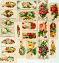 Miscellaneous:Ephemera, Collection of Approximately Twenty-One Victorian Calling Cards.Circa 1890. ...