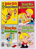 Bronze Age (1970-1979):Cartoon Character, Richie Rich Digest Winners #1-16 File Copies Box Lot (Harvey,1977-82) Condition: Average NM-....