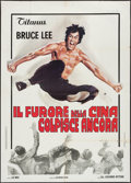 "Movie Posters:Action, The Chinese Connection (Titanus, 1973). Italian 2 - Foglio (39"" X55""). Action.. ..."