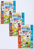 Bronze Age (1970-1979):Cartoon Character, Richie Rich, Casper and Wendy National League File Copies BoxLot(Harvey, 1976) Condition: Average VF/NM....