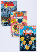Modern Age (1980-Present):Superhero, New Teen Titans/Tales of the Teen Titans Box Lot (DC, 1981-85)Condition: Average NM-.... (Total: 2 Box Lots)