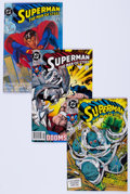 Modern Age (1980-Present):Superhero, Superman: The Man of Steel Box Lot (DC, 1991-95) Condition: AverageNM-....