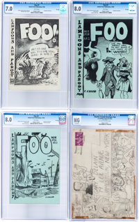 Foo #1-3 CGC-Graded File Copy Group Plus Envelope (Animal Town Comics, 1958).... (Total: 4 Items)