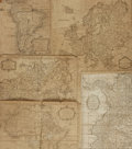 Books:Maps & Atlases, [Maps]. Group of Five Eighteenth-Century Engraved Maps. Various publishers, circa late eighteenth century. . ...