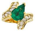 Estate Jewelry:Rings, Emerald, Diamond, Gold Ring, H. Stern. ...