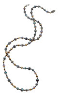 Estate Jewelry:Necklaces, Opal, Dyed Freshwater Pearl, Gold Necklace. ...