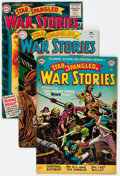 Silver Age (1956-1969):War, Star Spangled War Stories Group of 6 (DC, 1953-65) Condition: Average VG.... (Total: 6 Comic Books)