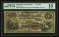 National Bank Notes:Pennsylvania, Lehighton, PA - $10 1882 Brown Back Fr. 487 The First NB Ch. #(E)2308. ...
