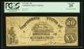 Confederate Notes:1861 Issues, T18 $20 1861 PF-26 Cr 133A.. ...