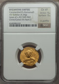 Ancients:Byzantine, Ancients: Constantine VII & Romanus II (AD 945-959). AV solidus(4.34 gm)....