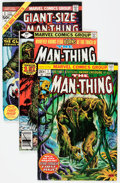 Bronze Age (1970-1979):Horror, Man-Thing Group of 62 (Marvel, 1970s-80s) Condition: AverageFN/VF.... (Total: 62 Comic Books)