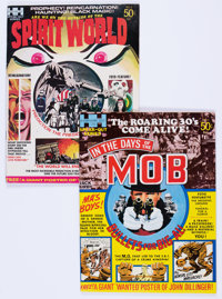 In the Days of the Mob #1/Spirit World #nn Group (DC/Hampshire, 1971).... (Total: 2 Comic Books)