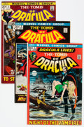 Bronze Age (1970-1979):Horror, Tomb of Dracula Group of 13 (Marvel, 1972-79) Condition: AverageFN.... (Total: 13 Comic Books)
