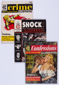 Magazines:Miscellaneous, EC Magazines Group of 8 (EC, 1955-56) Condition: Average VG-....(Total: 8 Comic Books)