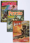 Magazines:Horror, Assorted Horror Magazines Group (Various Publishers, 1970-72) Condition: Average VF.... (Total: 7 Comic Books)