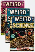 Golden Age (1938-1955):Science Fiction, Weird Science Group of 4 (EC, 1952-53) Condition: Average VG/FN....(Total: 4 Comic Books)
