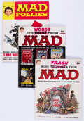 Magazines:Mad, MAD Specials Group of 10 (EC, 158-72) Condition: Average VG/FN....(Total: 10 Comic Books)