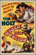 """Movie Posters:Western, Rider from Tucson (RKO, 1950). One Sheet (27"""" X 41""""). Western.. ..."""