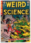 Golden Age (1938-1955):Science Fiction, Weird Science #22 (EC, 1953) Condition: FN+....