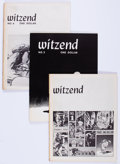 Magazines:Fanzine, Witzend #1, 3, and 4 Group (Wally Wood, 1966-68) Condition: Average FN.... (Total: 3 Items)