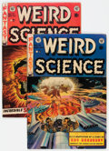 Golden Age (1938-1955):Science Fiction, Weird Science #18 and 21 Group (EC, 1953) Condition: AverageFN-.... (Total: 2 Comic Books)