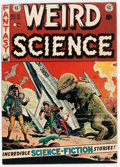 Golden Age (1938-1955):Science Fiction, Weird Science #15 (EC, 1952) Condition: FN....