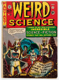 Golden Age (1938-1955):Science Fiction, Weird Science #14 (#3) (EC, 1950) Condition: GD/VG....