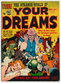 Golden Age (1938-1955):Horror, Strange World of Your Dreams #2 (Prize, 1952) Condition: VG....