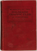 Books:Art & Architecture, F. Finch. Members of the Colorado Traffic Club. Denver: Finch & Sowers, 1909....