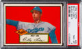 Baseball Cards:Singles (1950-1959), 1952 Topps Billy Loes (Black Back) #20 PSA NM-MT 8 - Only OneHigher....