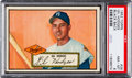 Baseball Cards:Singles (1950-1959), 1952 Topps Gil Hodges (Black Back) #36 PSA NM-MT 8....