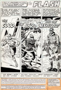 Original Comic Art:Panel Pages, Don Heck and Frank Chiaramonte The Flash #289 Page 1Original Art (DC, 1980)....
