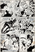 Original Comic Art:Panel Pages, Don Heck and Sal Buscema Amazing Adventures #6 Page 9Original Art (Marvel, 1971)....