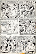 Original Comic Art:Panel Pages, Don Heck and Jim Mooney Sub-Mariner #68 Page 11 Original Art(Marvel, 1974)....