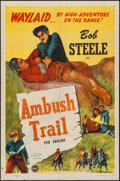 "Movie Posters:Western, Ambush Trail & Other Lot (PRC, 1946). One Sheets (2) (27"" X 41""). Western.. ..."
