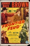 "Movie Posters:Western, Frontier Feud & Other Lot (Monogram, 1945). One Sheets (2) (27"" X 41""). Western.. ... (Total: 2 Items)"