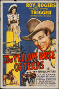 """Movie Posters:Western, The Yellow Rose of Texas (Republic, 1944). One Sheet (27"""" X 41""""). Western.. ..."""