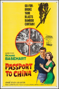 "Movie Posters:Adventure, Passport to China & Other Lot (Columbia, 1961). One Sheets (2)(27"" X 41""). Adventure.. ... (Total: 2 Items)"