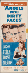 """Movie Posters:Crime, Angels with Dirty Faces (Warner Brothers, R-1948). Insert (14"""" X36""""). Crime.. ..."""